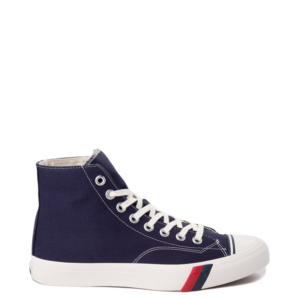 Mens PRO-Keds Royal Hi Sneaker - Navy