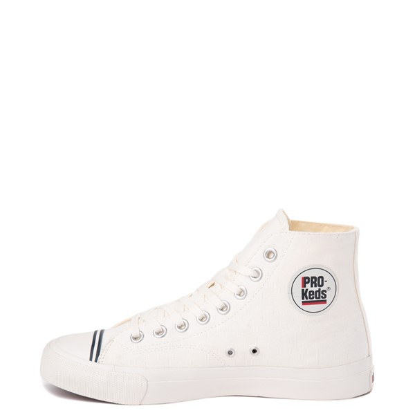 alternate view Mens PRO-Keds Royal Hi Sneaker - WhiteALT1