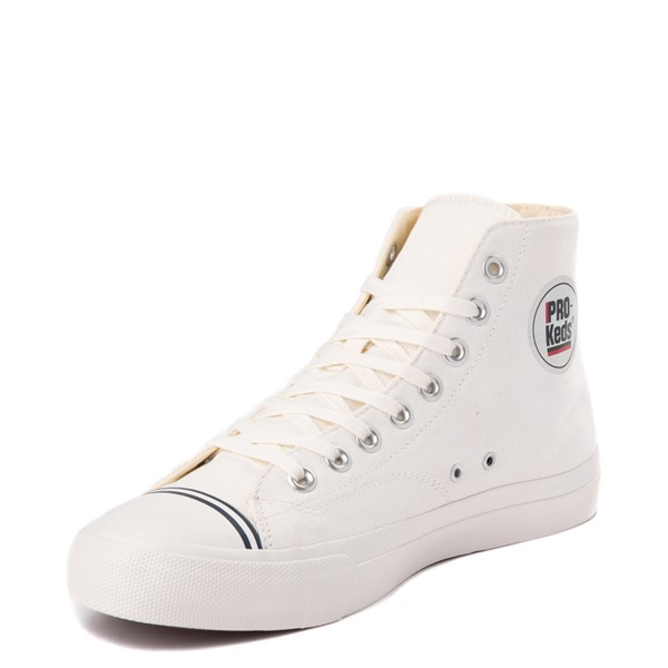 alternate view Mens PRO-Keds Royal Hi Sneaker - WhiteALT2