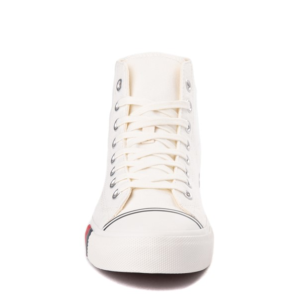 alternate view Mens PRO-Keds Royal Hi Sneaker - WhiteALT4
