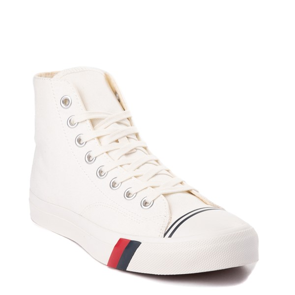 alternate view Mens PRO-Keds Royal Hi Sneaker - WhiteALT5