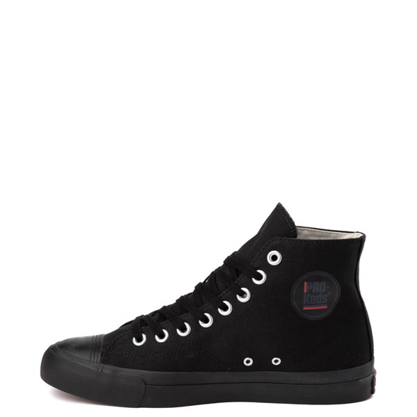 alternate view Mens PRO-Keds Royal Hi Sneaker - Black / BlackALT1