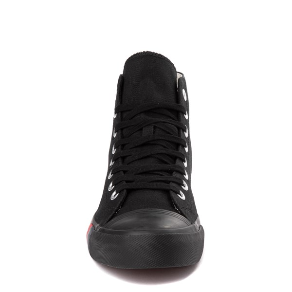 alternate view Mens PRO-Keds Royal Hi Sneaker - Black / BlackALT4