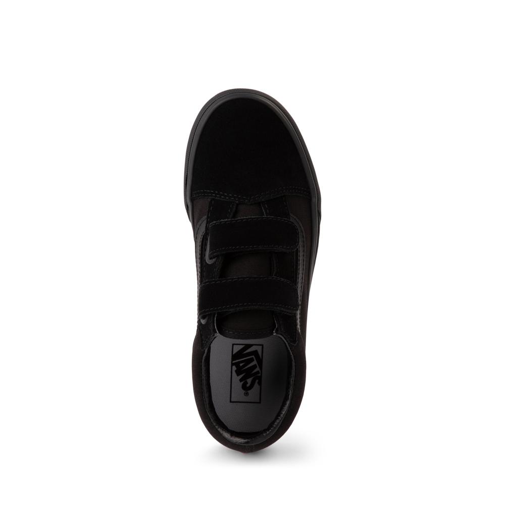 Vans Old Skool V Skate Shoe Little Kid Black Monochrome