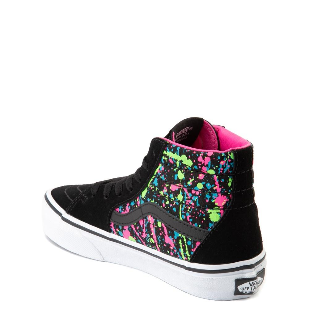 Vans Sk8 Hi Paint Splatter Skate Shoe