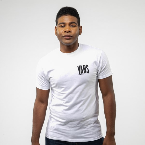 alternate view Mens Vans Stack Tee - WhiteALT1