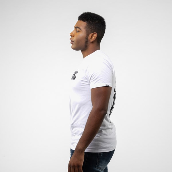 alternate view Mens Vans Stack Tee - WhiteALT2