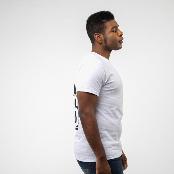 alternate view Mens Vans Stack Tee - WhiteALT3