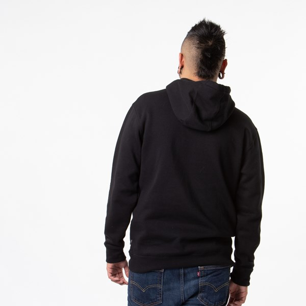 alternate view Mens Vans Classic Drop V Hoodie - BlackALT1B