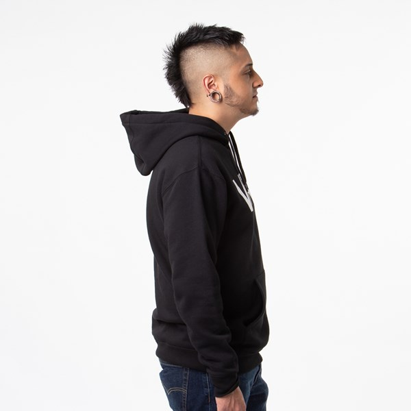 alternate view Mens Vans Classic Drop V Hoodie - BlackALT3