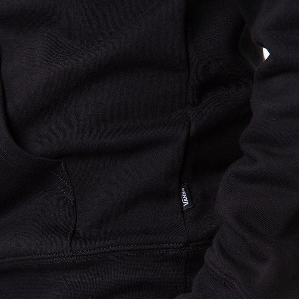 alternate view Mens Vans Classic Drop V Hoodie - BlackALT4