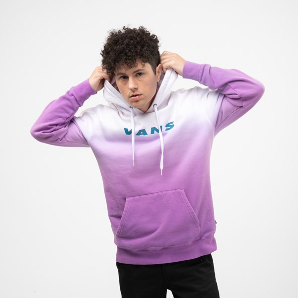 Mens Vans Hi-Point Dip-Dye Hoodie - Dewberry Purple