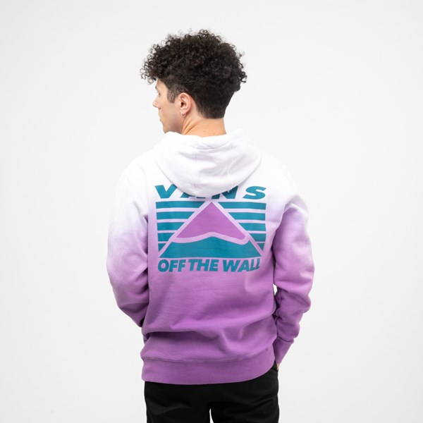 alternate view Mens Vans Hi-Point Dip-Dye Hoodie - Dewberry PurpleALT1