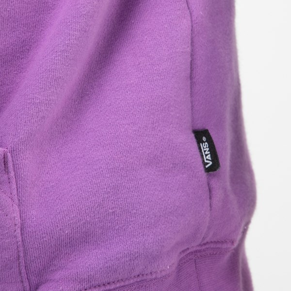 alternate view Mens Vans Hi-Point Dip-Dye Hoodie - Dewberry PurpleALT5
