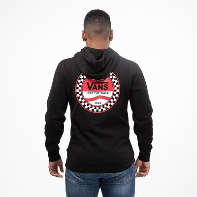 Main view of Mens Vans Side Block Hoodie - Black