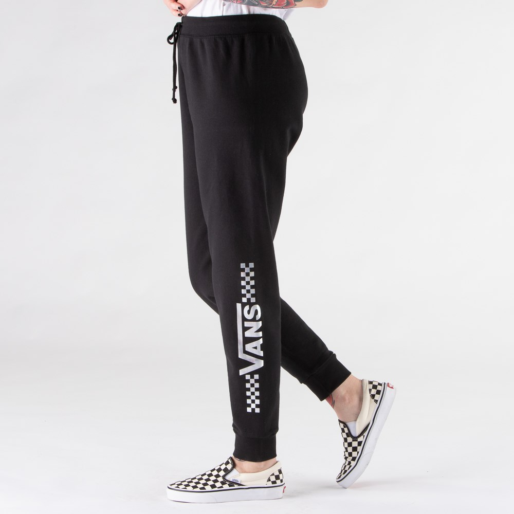 Womens Vans Shine It Sweatpants - Black / Iridescent
