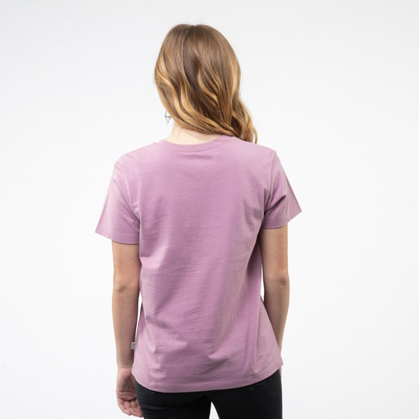 Alternate view of Womens Vans Flying V Crew Tee - Valerian Purple