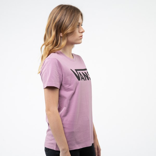 alternate view Womens Vans Flying V Crew Tee - Valerian PurpleALT3