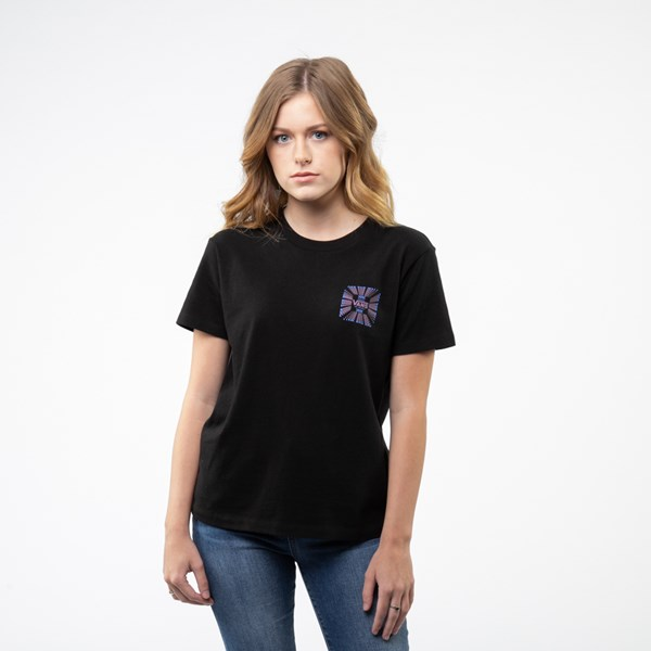 Alternate view of Womens Vans Vexer Tee - Black