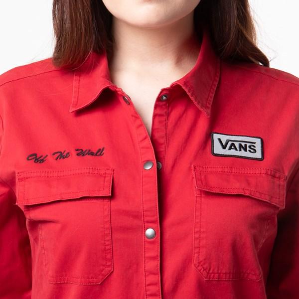 alternate view Womens Vans Oil Change Overalls - Chili PepperALT1B