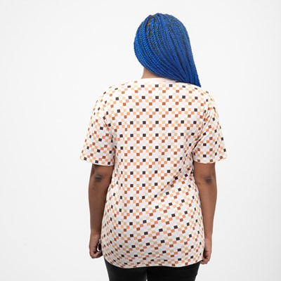 Alternate view of Womens Vans Breast Cancer Awareness Boyfriend Tee - White / Multi