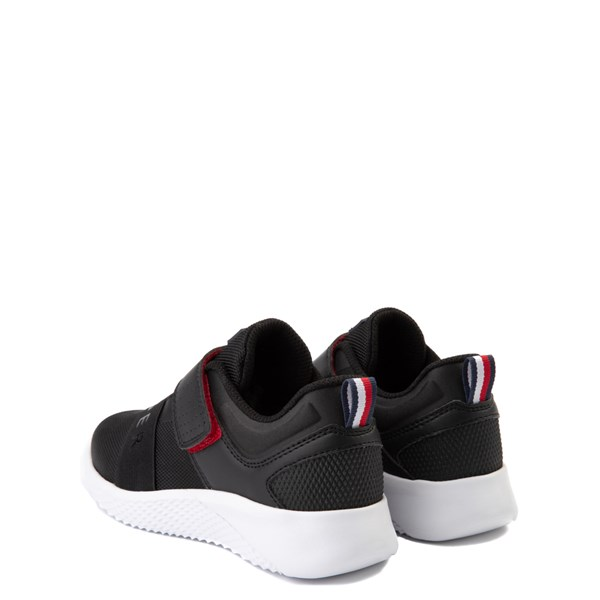 alternate view Tommy Hilfiger Cadet Athletic Shoe - Little Kid / Big Kid - BlackALT2