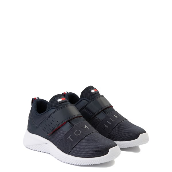 alternate view Tommy Hilfiger Cadet Athletic Shoe - Little Kid / Big Kid - NavyALT1
