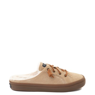 Main view of Womens Sperry Top-Sider Crest Vibe Mule Sneaker - Sand