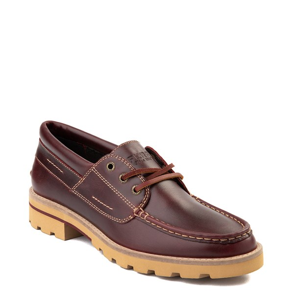 Alternate view of Womens Sperry Top-Sider Authentic Original Lug Boat Shoe - Burgundy