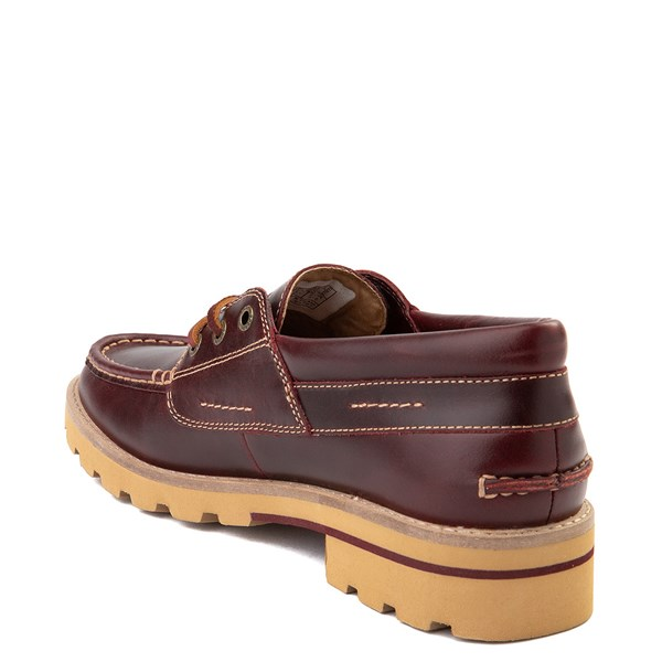 alternate view Womens Sperry Top-Sider Authentic Original Lug Boat Shoe - BurgundyALT2