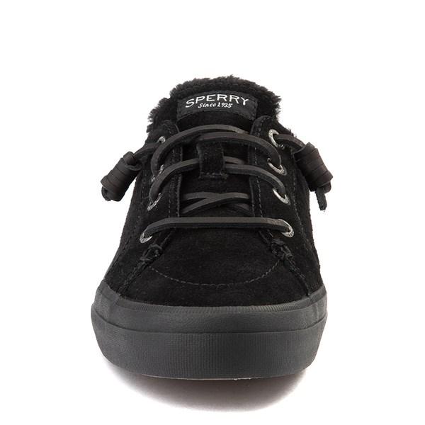 alternate view Womens Sperry Top-Sider Crest Vibe Mule Sneaker - BlackALT4
