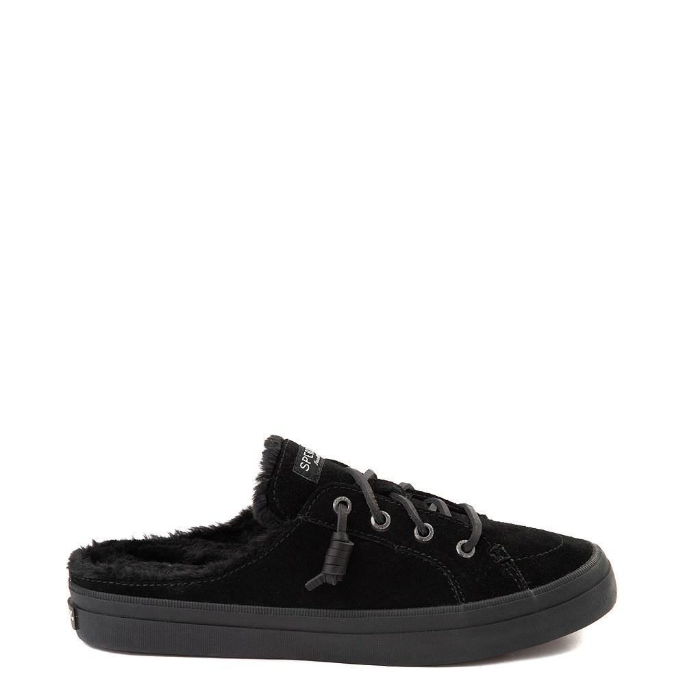 Womens Sperry Top-Sider Crest Vibe Mule Sneaker - Black