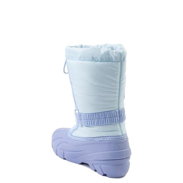 alternate view Disney x Sorel Frozen 2 Flurry™ Elsa Boot - Toddler / Little Kid - Light BlueALT2
