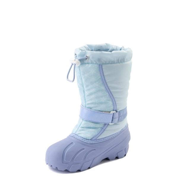 alternate view Disney x Sorel Frozen 2 Flurry™ Elsa Boot - Toddler / Little Kid - Light BlueALT3