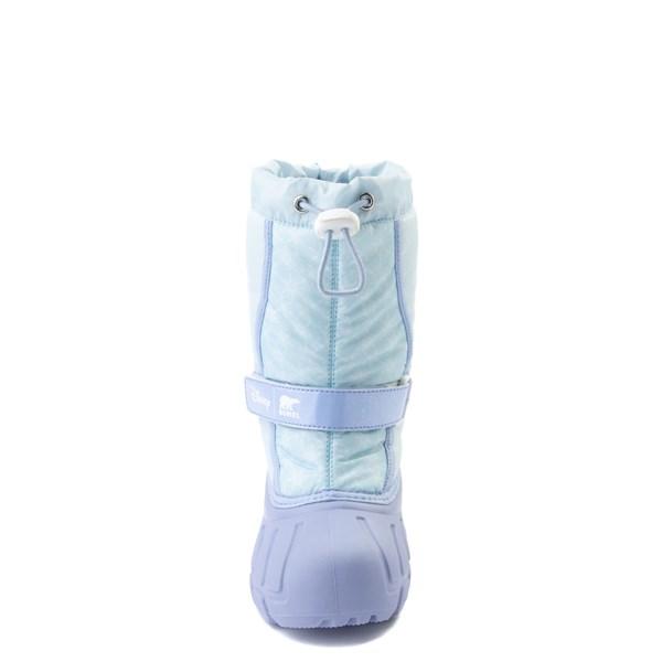 alternate view Disney x Sorel Frozen 2 Flurry™ Elsa Boot - Toddler / Little Kid - Light BlueALT4