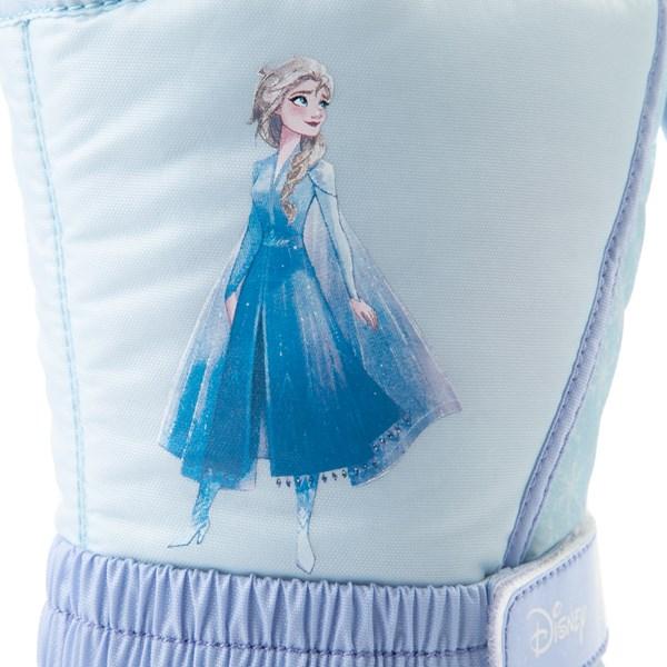 alternate view Disney x Sorel Frozen 2 Flurry™ Elsa Boot - Toddler / Little Kid - Light BlueALT6