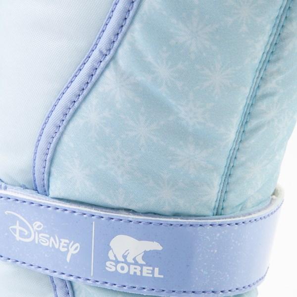 alternate view Disney x Sorel Frozen 2 Flurry™ Elsa Boot - Toddler / Little Kid - Light BlueALT7
