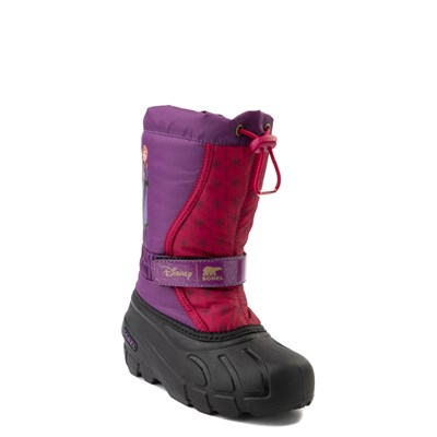 Alternate view of Disney x Sorel Frozen 2 Flurry™ Anna Boot - Toddler / Little Kid - Purple / Red