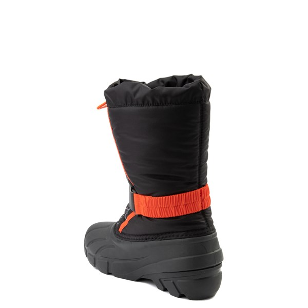 alternate view Disney x Sorel Frozen 2 Flurry™ Olaf Boot - Toddler / Little Kid - Black / RedALT2
