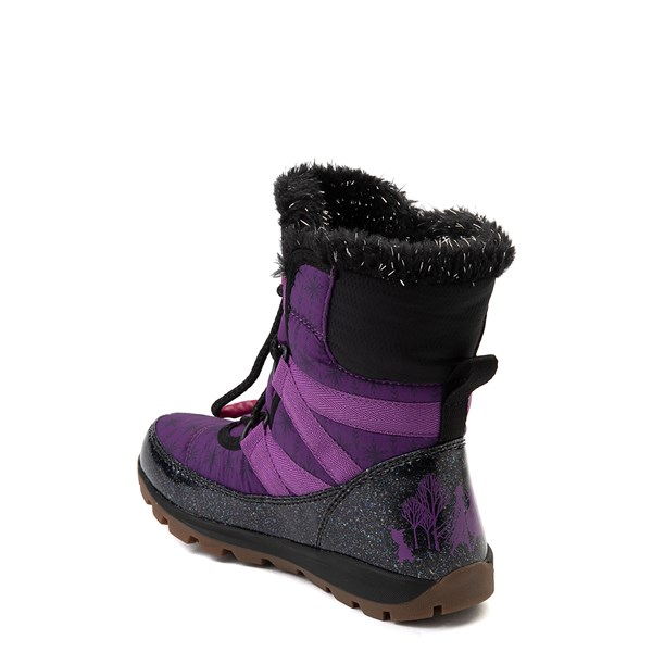 alternate view Disney x Sorel Frozen 2 Whitney™ Anna Boot - Toddler / Little Kid - Purple / BlackALT2