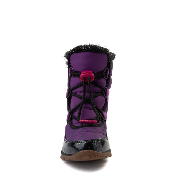 alternate view Disney x Sorel Frozen 2 Whitney™ Anna Boot - Toddler / Little Kid - Purple / BlackALT4