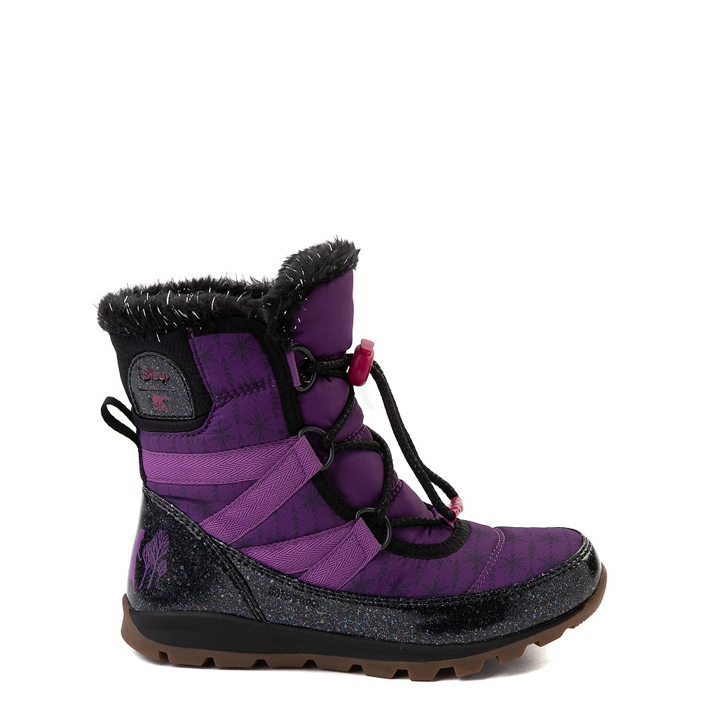 Disney x Sorel Frozen 2 Whitney™ Anna Boot - Toddler / Little Kid - Purple / Black