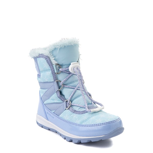 alternate view Disney x Sorel Frozen 2 Whitney™ Elsa Boot - Toddler / Little Kid - Light BlueALT1