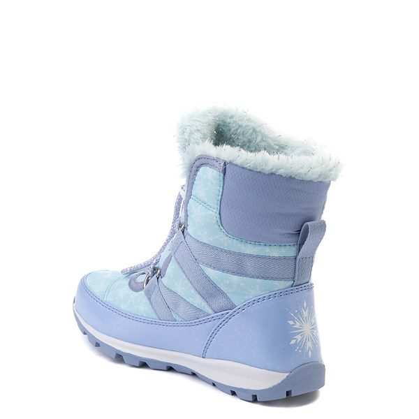 alternate view Disney x Sorel Frozen 2 Whitney™ Elsa Boot - Toddler / Little Kid - Light BlueALT2