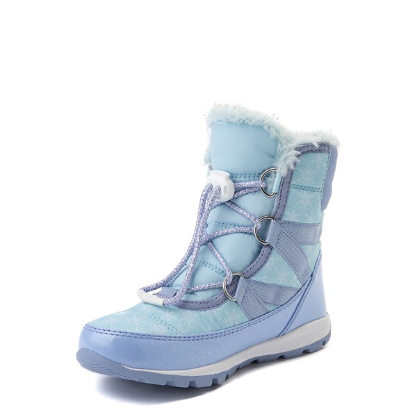 alternate view Disney x Sorel Frozen 2 Whitney™ Elsa Boot - Toddler / Little Kid - Light BlueALT3
