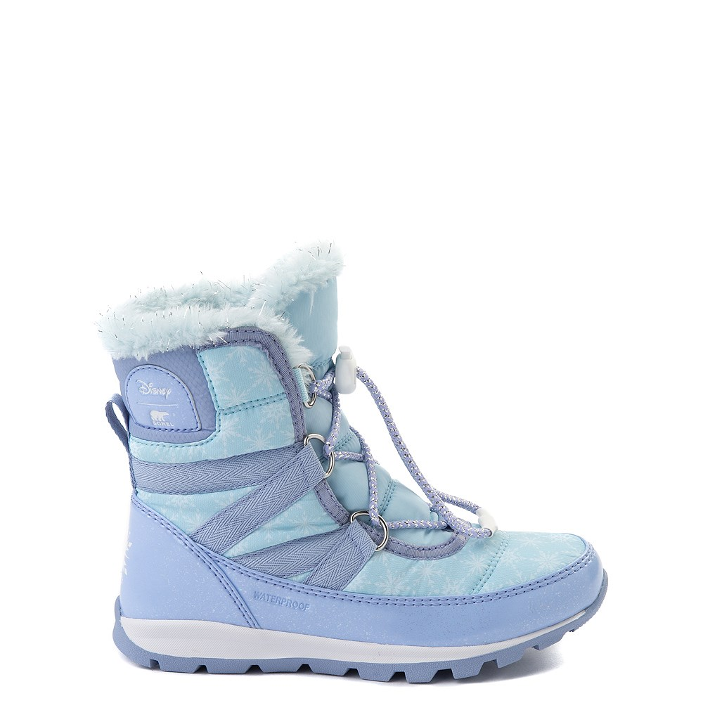 Disney x Sorel Frozen 2 Whitney™ Elsa Boot - Toddler / Little Kid - Light Blue
