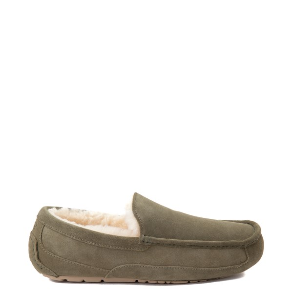 Mens UGG® Ascot Slip On Casual Shoe - Moss Green