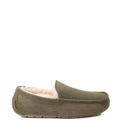 Main view of Mens UGG® Ascot Slip On Casual Shoe - Moss Green