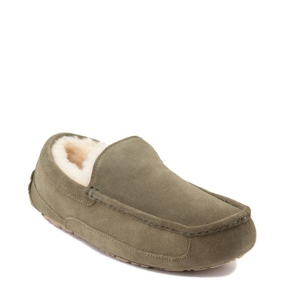 Alternate view of Mens UGG® Ascot Slip On Casual Shoe - Moss Green