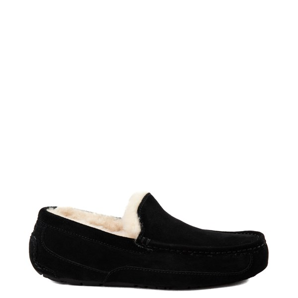 Mens UGG® Ascot Slip On Casual Shoe - Black